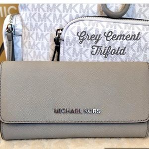 Michael Kors Bags - Michael KORS Wallet Trifold in Cement Hard to Find